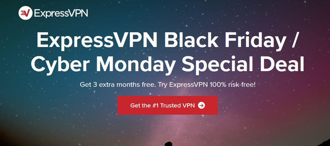 ExpressVPN Cyber Monday / Cyber Monday
