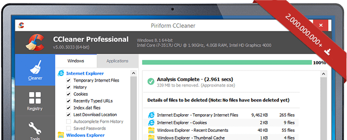 CCleaner Black Friday / Cyber Monday Sale & Deals