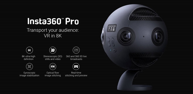 Insta360 Pro & Pro 2 Black Friday / Cyber Monday Sale