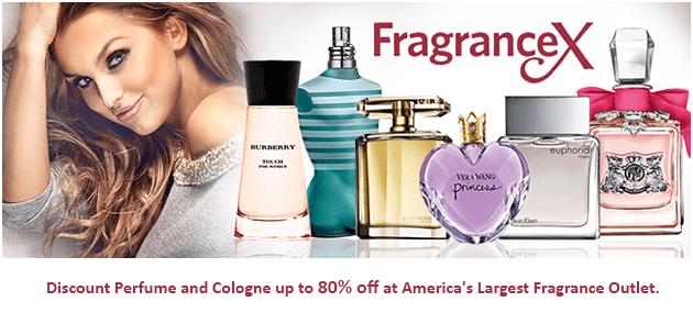 FragranceX Black Friday / Cyber Monday Sale