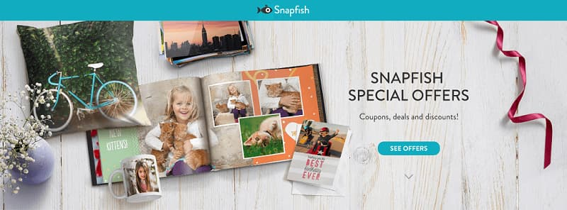 Snapfish Black Friday Deals - Get upto 70% off