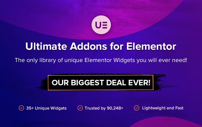 Ultimate Addons for Elementor Black Friday - Grab 30% Discount on All Plans