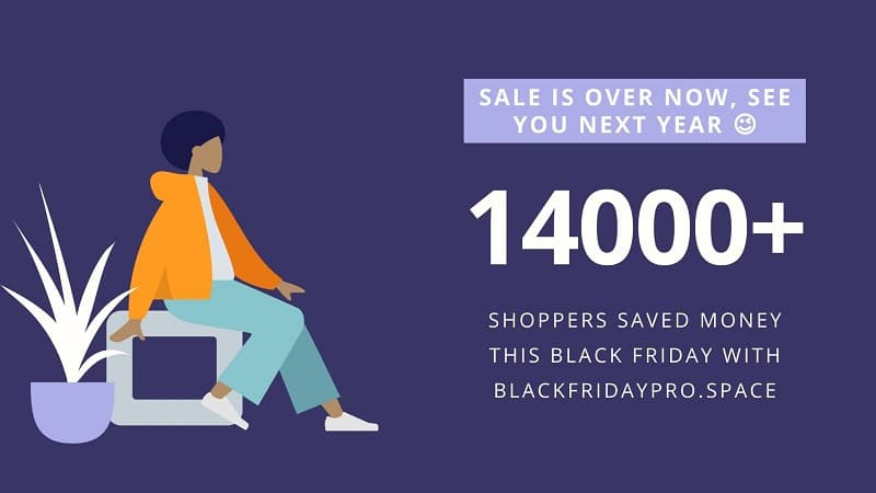 Sale is Over Now, Thanks for Shopping with Us.