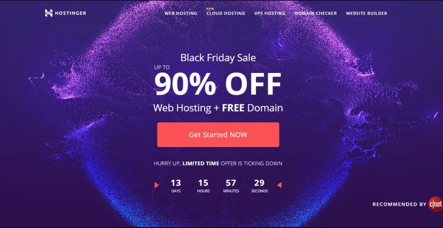 Hostinger Black Friday Sale